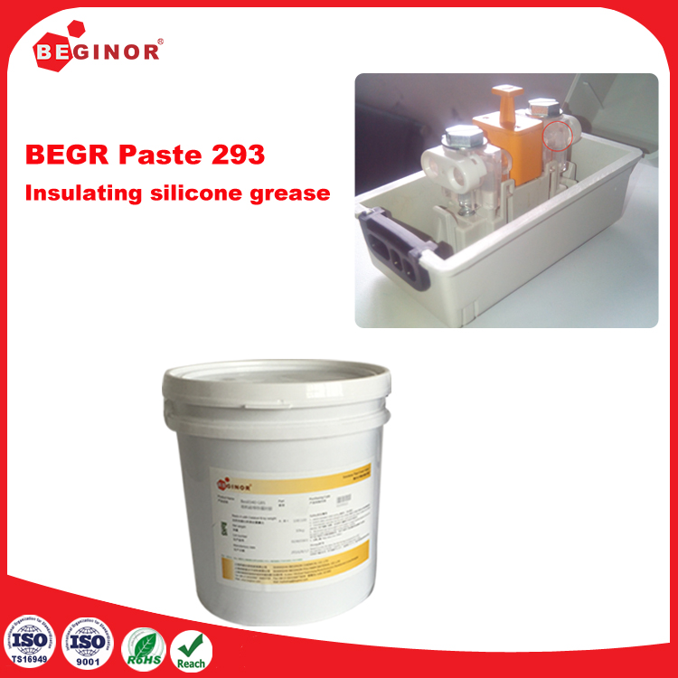 Insulating silicone grease