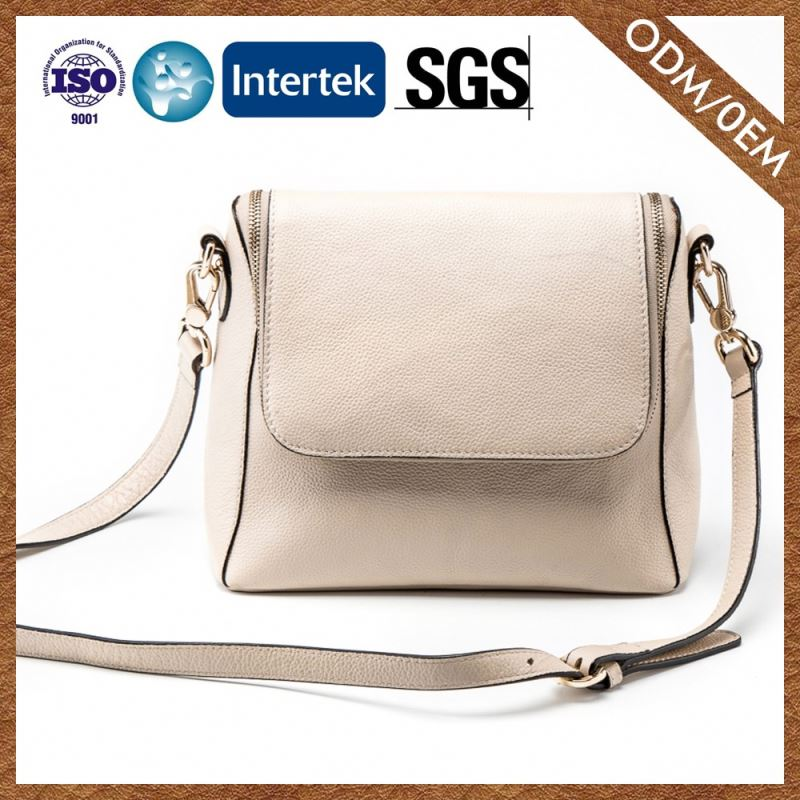 Top Sale Custom Fitted Genuine Leather Nice Quality Women Bag Women Satchel Cross Body Bag