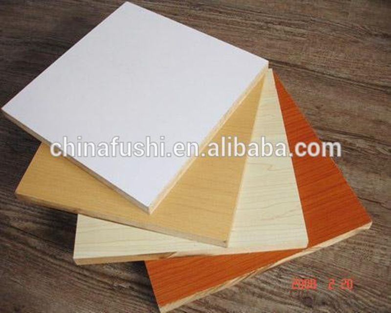 Good Prices 5 mm white laminated mdf melamine board