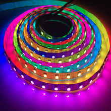 Addressable waterproof 5050leds <strong>RGB</strong> colors Chasing led strip light with SK9822 IC