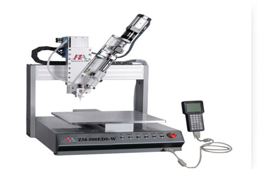 High cost performance ZM-500ED Desktop Double Liquid Automatic Glue Dispensing Robot