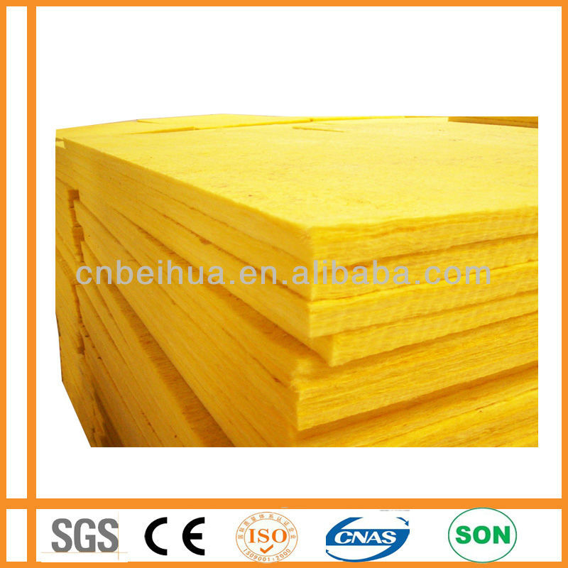 saving energy and soundproof article cutting glass wool board and batts
