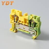 Durable colorful screw distribution spring terminal blocks