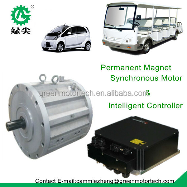 High Voltage Permanent Magnet Synchronous Motor For