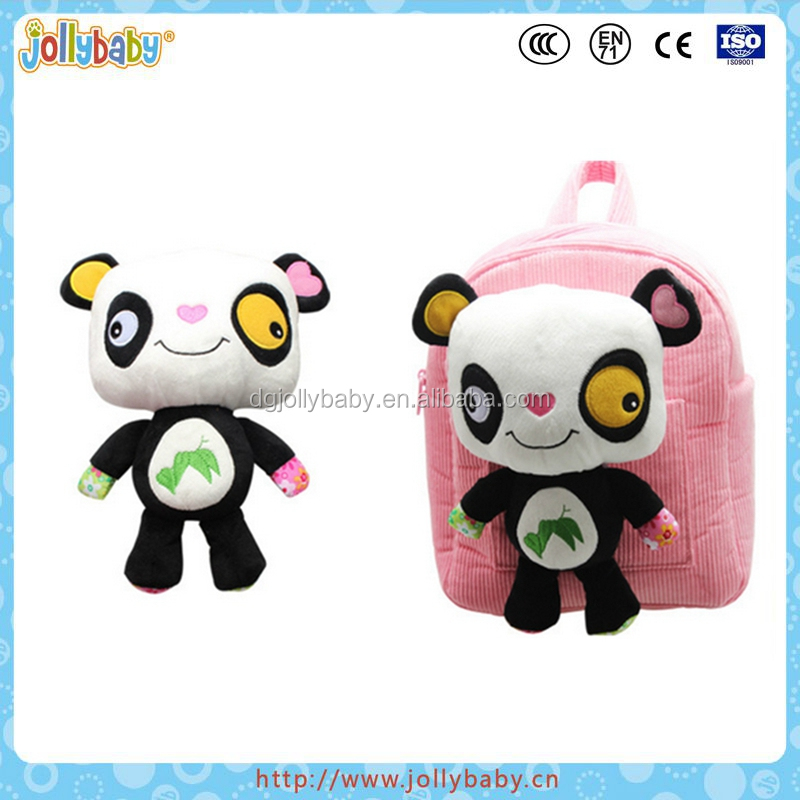 Lovely Cartoon Panda Baby Children Kids Schoolbag Baby Animals Satchel