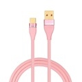 2018 shenzhen usb cables 2.4A braided usb cable awm 2725 vw-1