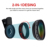 2017 Hot Sale Universal Professional HD Cell Phone Camera Lens Kit 0.45X Wide Angle Lens + 15X Macro Lens