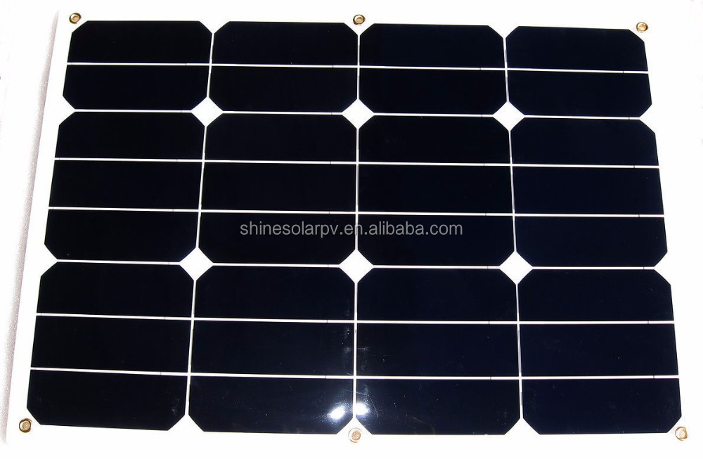 Sun power flexible high efficiency solar module solar panel for boat marine