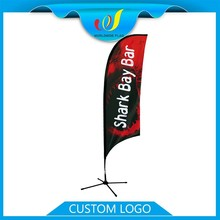 Advertising Event Trade Show Pvc Blade Flag And Banner Gift
