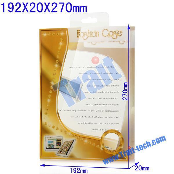 192*20*270mm Universal New Case Package Transparent PVC Cellphone Packing Box