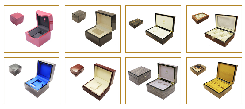High Quality Custom Packaging Wooden 20 Slot 30 Slot Watch Box