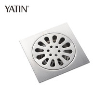 Yatin Solid Brass Floor Bathroom Drain