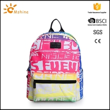 2016 hot design waterproof nylon drawstring bag