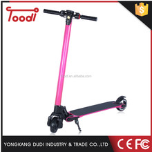 Cool Mobility Carbon Fiber Foldable E -Scooter for Adults 350w with Retractable Handle
