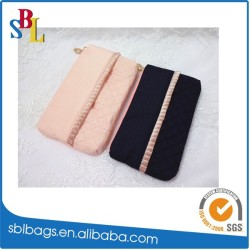 2015 custom velvet pouch fashion laminating pouch