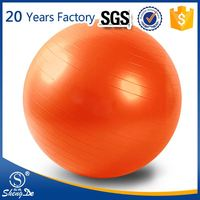 gym fitness ball , self inflatable plastic ball massager