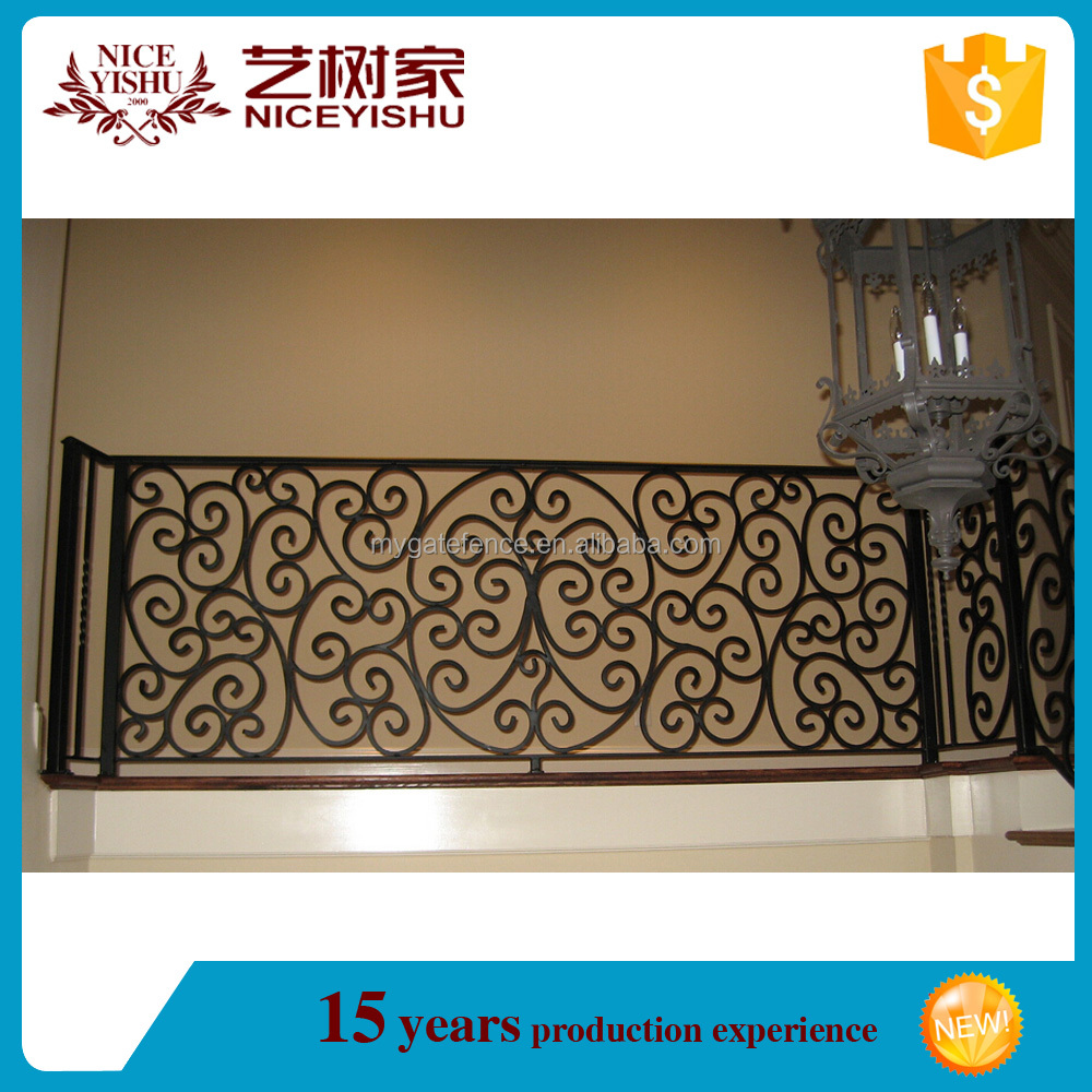 Modern decorative iron grill design for balcony/iron grill design for terrace/veranda fences design