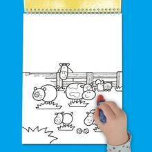 Kids Toy Water Drawing Painting Paper Book