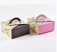 factory made cupcake hot selling most popular Macarons paper box