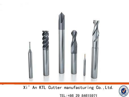 Factory price cobalt milling cutter with 4 flute