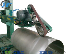 Hefei Jotun steel/ mild metal tank surface auto polish/buffing/grinding machine
