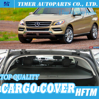 Top quality Suv retractable cargo cover for ml350 2012