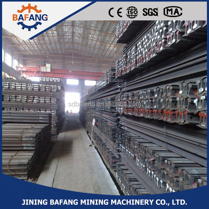 cheap price Q235B Railway Light railroad Steel Rail 8kg/m for underground mining for sale