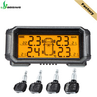 Classic solar power panel Potential accident protection tpms tire pressure monitoring