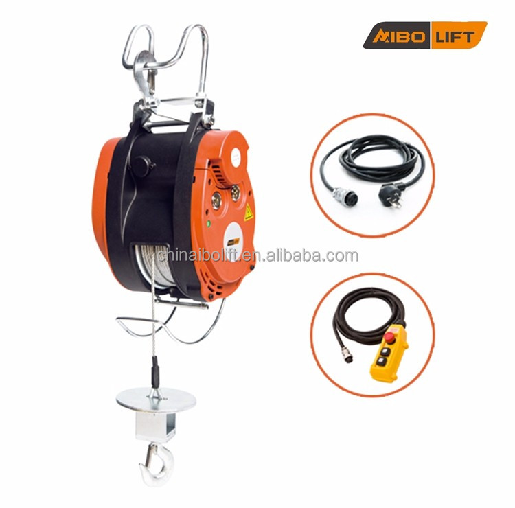 180 kg Load Capacity Lift Height 30 M Electric Hoist Portable Lift