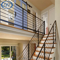 Easily Assembled Galvanized Steel/Iron Decorative Pool Fencing/ Handrails with powder coating
