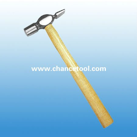 cross peen claw hammer with wooden handle STH026