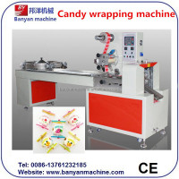 Auto Pillow Wrapping Machine For Lollipop,Lolly,Toffee/0086-18516303933