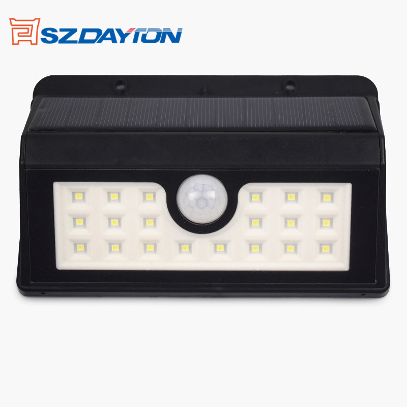 Newest Version Motion Sensor Lights Outdoor Waterproof Solar Powered Garden Patio Light