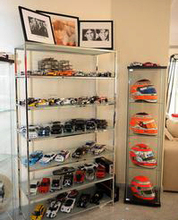 display rack for car store