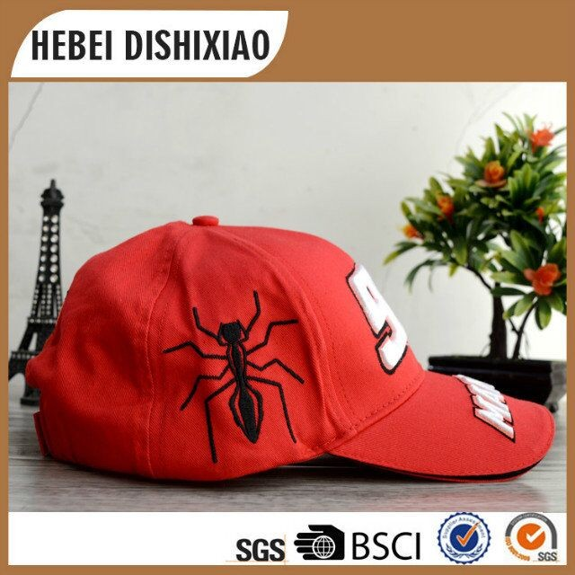 Custom 3D Puff Embroidery Hat 6 Panel CapCotton High Quality 3d Embroidery Baseball Cap
