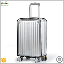Justop Clear Velcro Luggage Cover