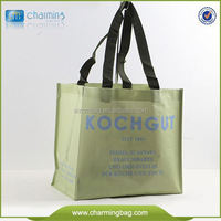 Logo Printed PP Woven Bag For Shop