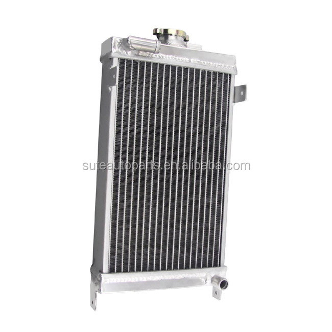 All Aluminum Performance Racing Water Cooling Motorcycle Radiator Factory Manufacture