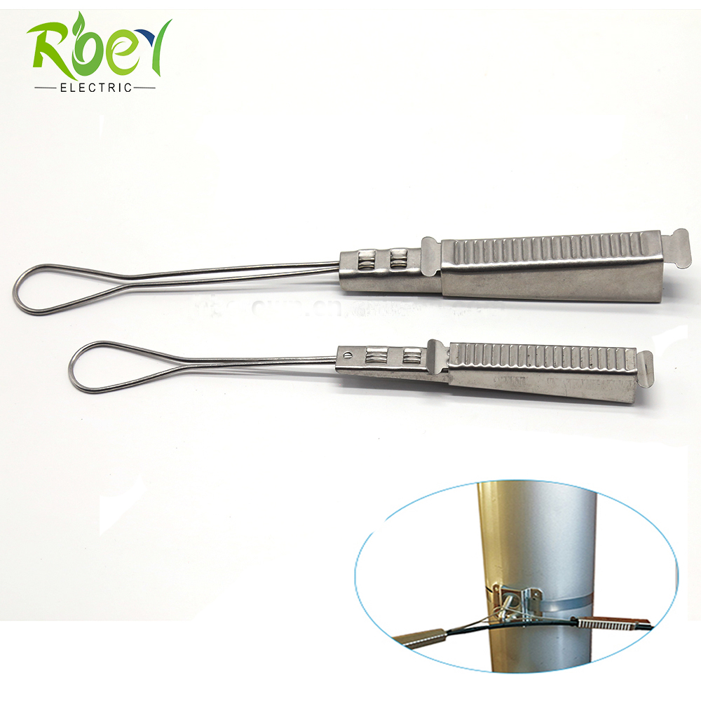 ANSI Standard Telecom Drop Wire Clamp / Aluminum Drop Wire Clamp