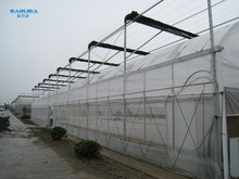 zigzag greenhouse with gutter