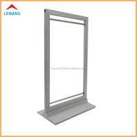 Metal Tabletop Advertising Poster Frame Aluminum Alloy Display Sign Holder Stands