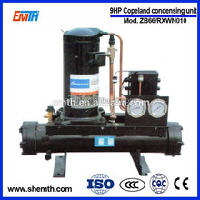 High quality water cooled industrial refrigeration equipment for cold room and laboratory