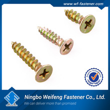 china competitive price hardware wholesaler manufacture factory galvanized decorative mirror screw