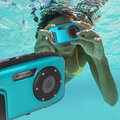 16mp,2.7 inch waterproof digital camera