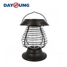 Garden solar power insect killer trap mosquito killer led lamp