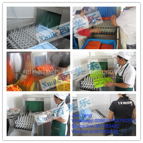 Hot sale Flight type factory dishwasher/hotel dishwasher