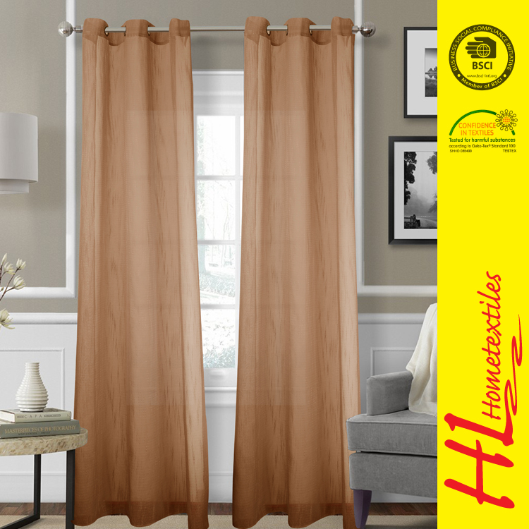 BSCI certification The flame retardant gazebo curtain