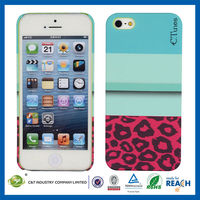 C&T Water Transfer Printing Plastic Cell Phone Covers For Apple Iphone 5