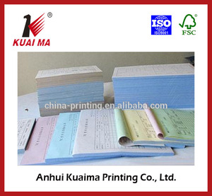 various kinds printed triplicate invoice books in 100s