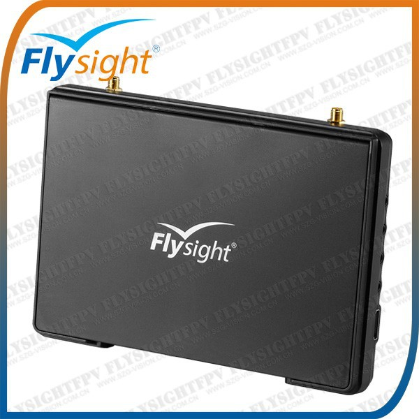 "E524 Hot sell! Flysight 5.8Ghz 32ch Black pearl 7"" HDMI built-in rx monitor for drone walkera tali h500, walkera lama 2"
